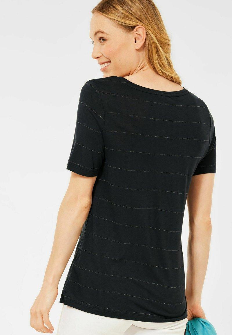 Cecil - Print T-shirt - grau