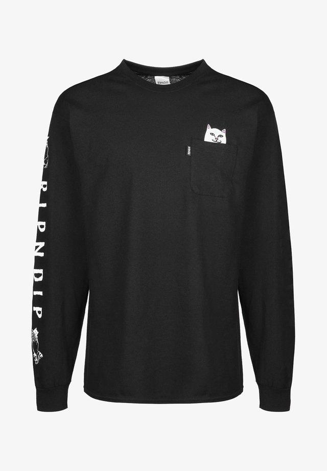 LORD NERMAL - Camiseta de manga larga - black