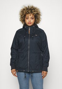 Ragwear Plus - DANKA - Summer jacket - navy - 0