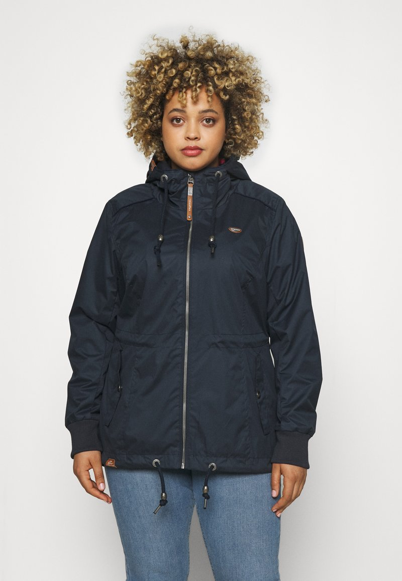 Ragwear Plus - DANKA - Summer jacket - navy