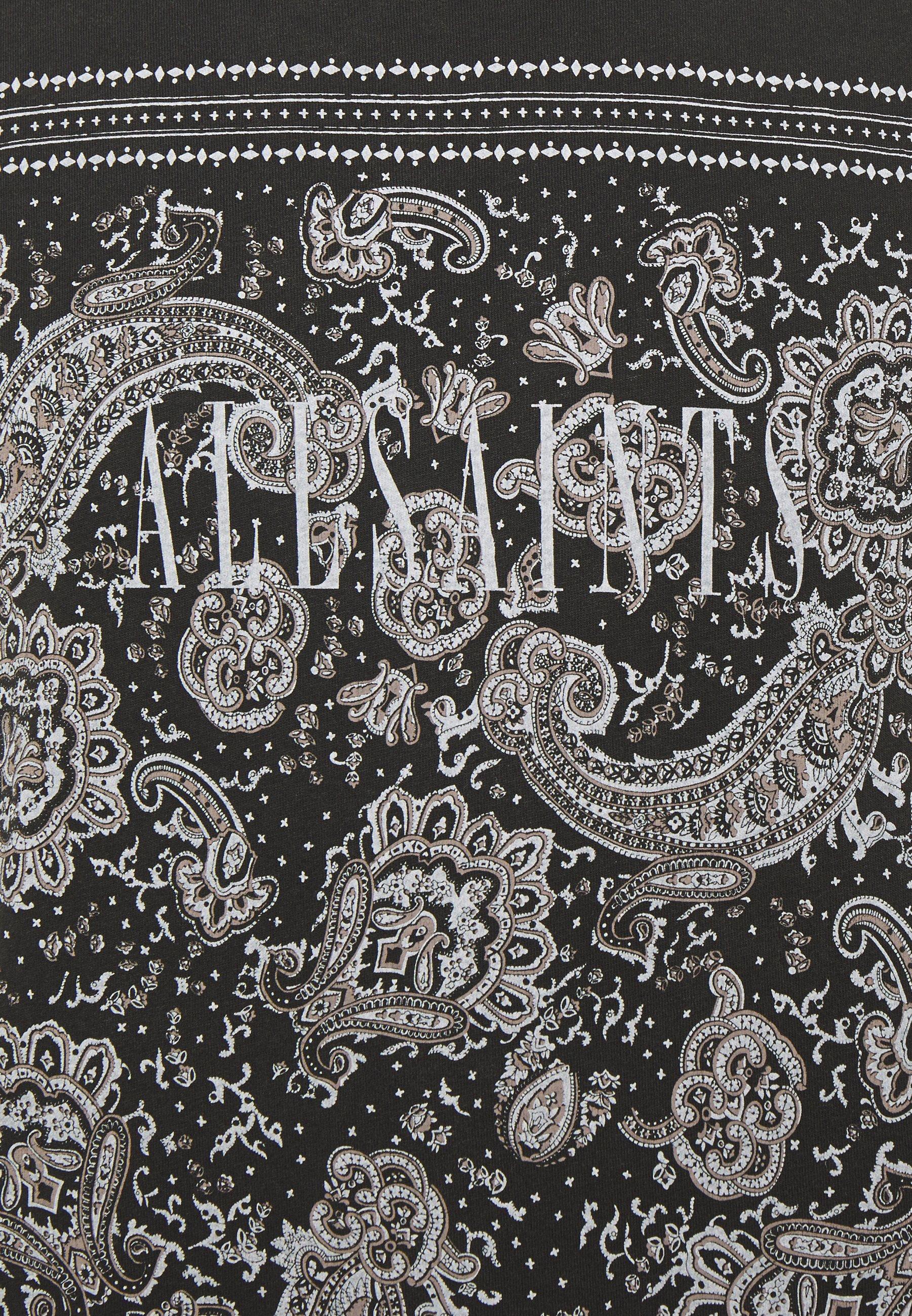 Allsaints T-shirts Med Print - Vintage Black/svart