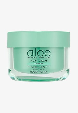 ALOE SOOTHING ESSENCE 80% MOISTURIZING CREAM  - Face cream - -