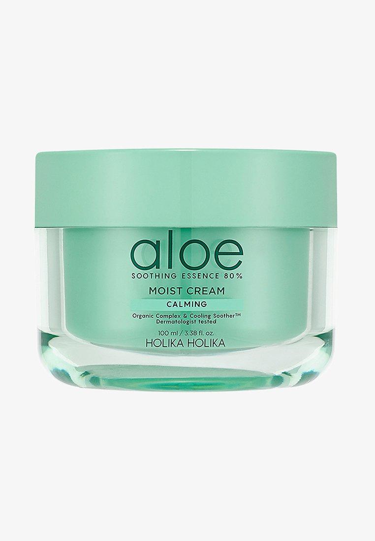 Holika Holika - ALOE SOOTHING ESSENCE 80% MOISTURIZING CREAM  - Face cream - -