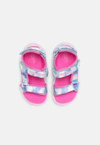 Skechers - RAINBOW RACER - Sandaler - pink/blue - 3