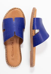 Tamaris - SLIDES - Mules - royal - 3
