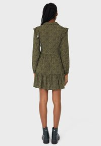 Stradivarius - Day dress - dark green - 2