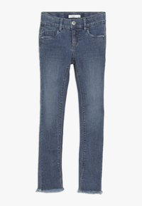 Name it - NKFPOLLY DNMTEJA ANCLE PANT - Slim fit jeans - medium blue denim - 0