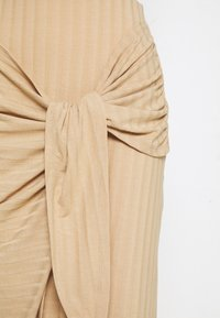 Nly by Nelly - WRAP TIE SKIRT - Pencil skirt - beige - 2