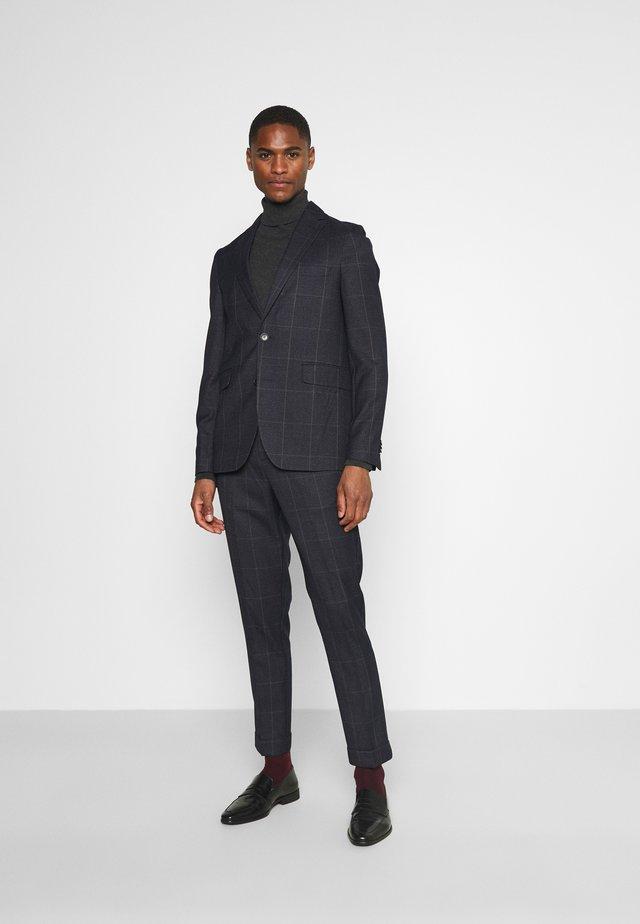 CHECK UNSTRUCTURED - Kostym - dark blue
