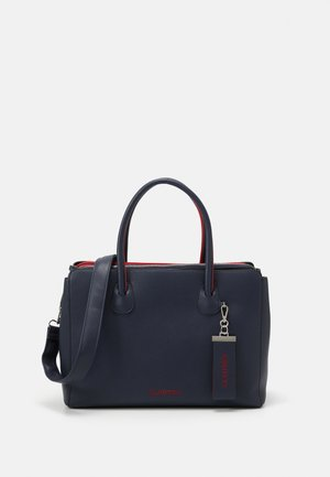 PHILLY SET - Tote bag - blue/red