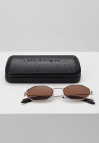 Alexander McQueen - Sunglasses - silver-coloured - 2