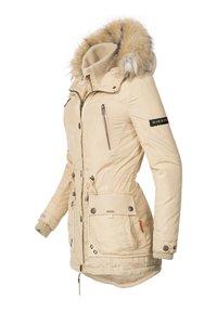 Marikoo - GRINSEKATZE - Winter coat - beige - 2