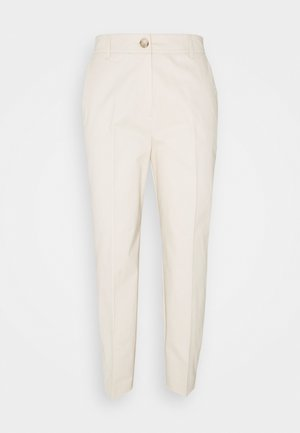 SLFNORA CROPPED PANT - Chinos - seedpearl