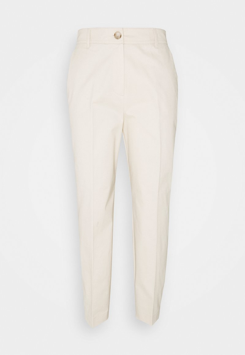 Selected Femme - SLFNORA CROPPED PANT - Chinos - seedpearl