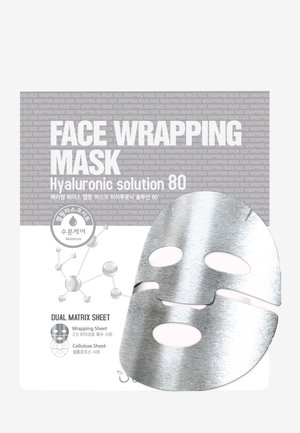 FACE WRAPPING MASK HYALURONIC SOLUTION 80 3 MASKS PACK - Ansiktsvårdsset - -