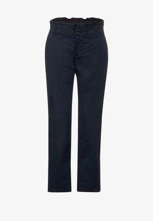 LOOSE FIT N HIGH WAIST - Trousers - blau
