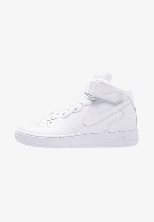 AIR FORCE 1 MID '07 - Korkeavartiset tennarit - white