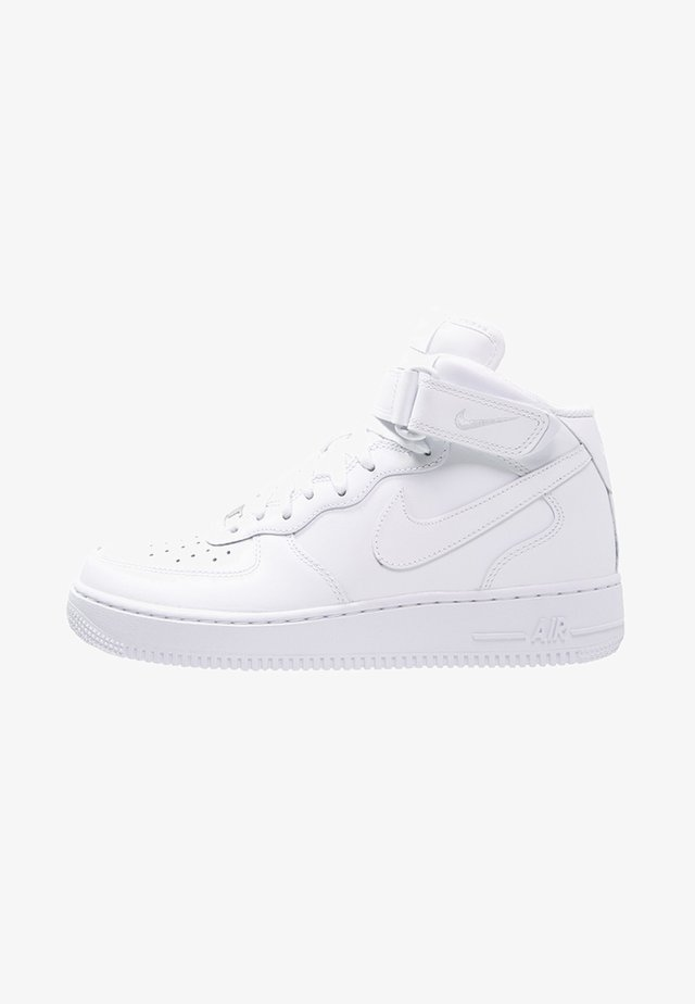 AIR FORCE 1 MID '07 - Høye joggesko - white