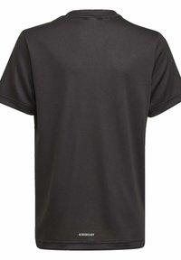 adidas Performance - AEROREADY T-SHIRT - Print T-shirt - black - 1