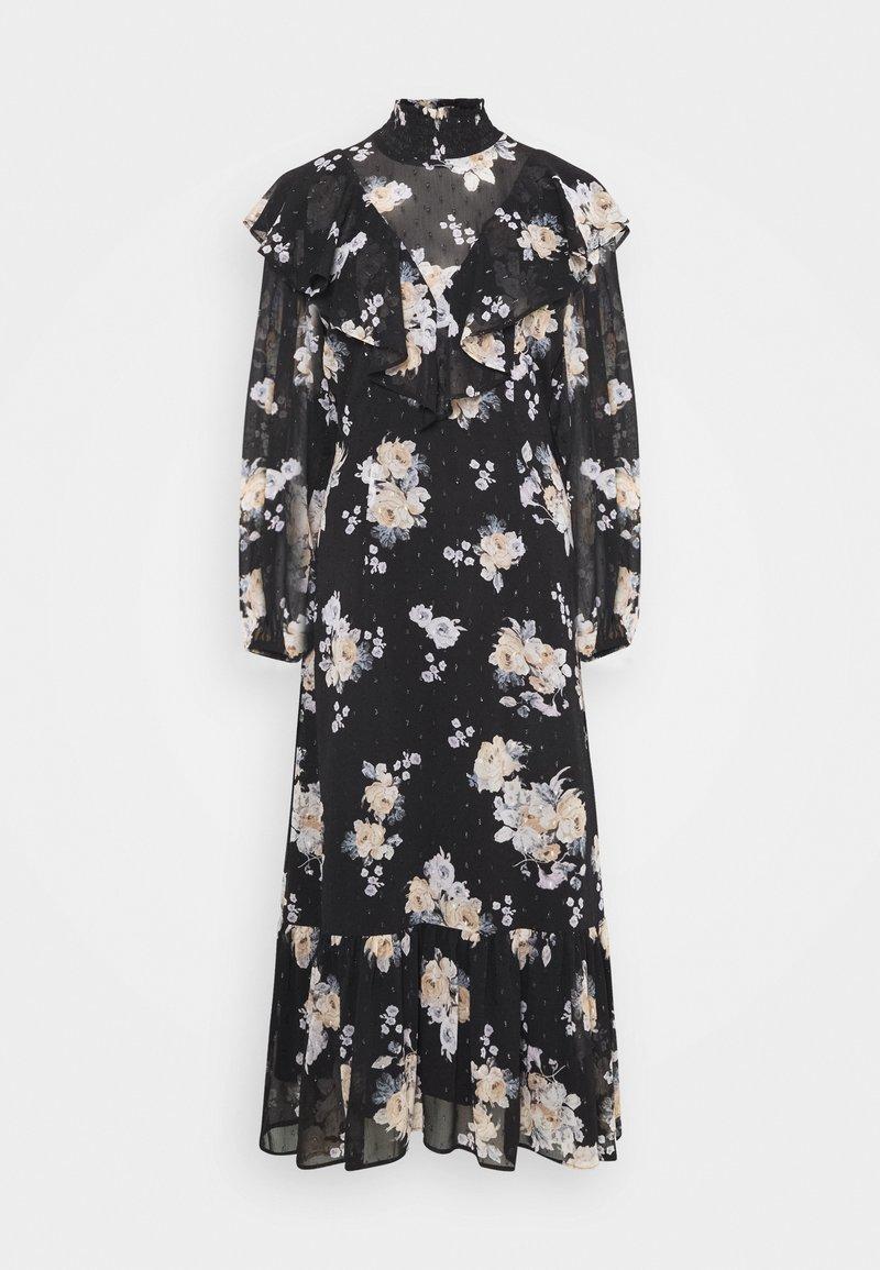EDITED - WIYANA DRESS - Maxi dress - schwarz