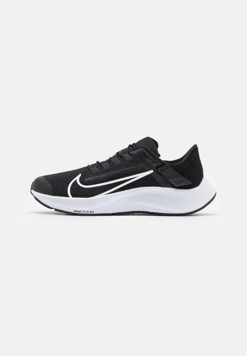 Nike Performance - AIR ZOOM PEGASUS FLYEASE - Neutrale løbesko - black/white/anthracite/volt