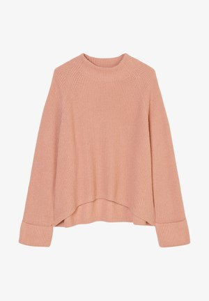 BOXY LONG SLEEVE RAGLAN CROPPED LENGTH - Jumper - winter rose