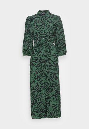 COLUMN DRESS - Maxi dress - green