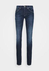 Dondup - PANTALONE GEORGE - Slim fit jeans - blue denim - 4