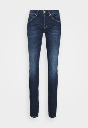 PANTALONE GEORGE - Jeans slim fit - blue denim