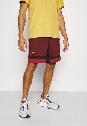Pantalón corto de deporte - dark cayenne/citron pulse