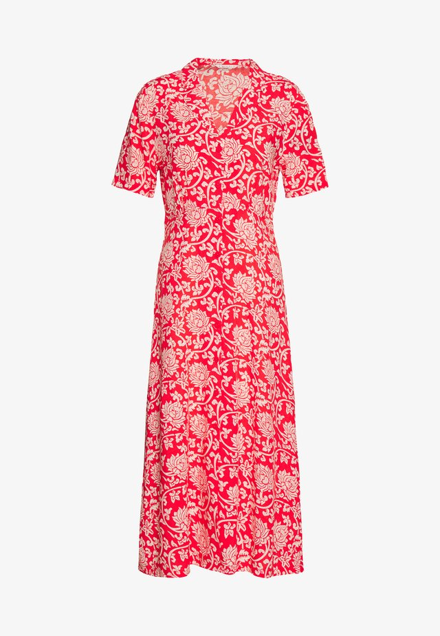 DRESS ETHNIC PRINT - Skjortklänning - red