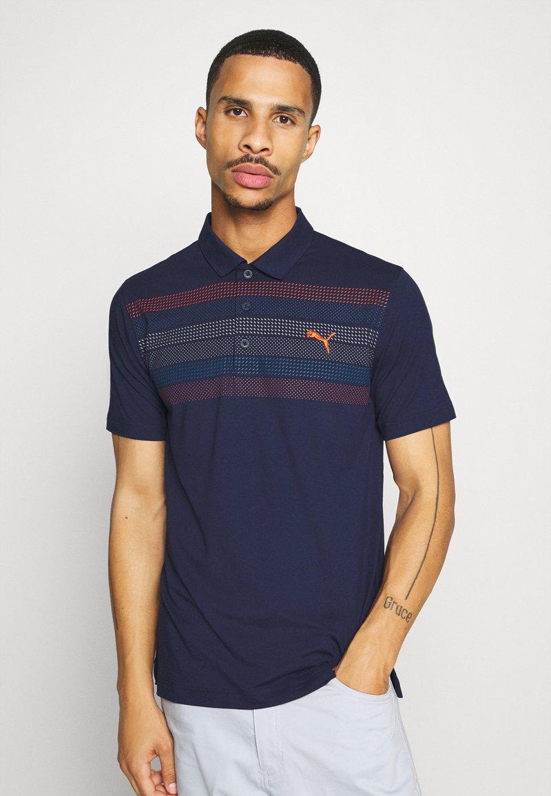 Puma Golf - ROAD MAP - T-shirt de sport - peacoat