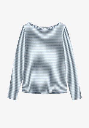 Long sleeved top - multi/ steely blue