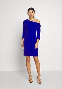 Pedro del Hierro - BODYCON DRESS - Cocktail dress / Party dress - dark blue - 1