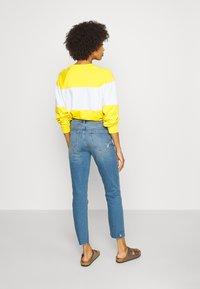 GAP - CIGARETTE KADUNA - Jeans straight leg - dark-blue denim - 2