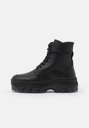 JAXSTAR - Lace-up ankle boots - black