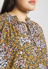 Cotton On Curve - CURVE MOCK NECK FRILL SLEEVE - Blouse - multi-coloured - 6