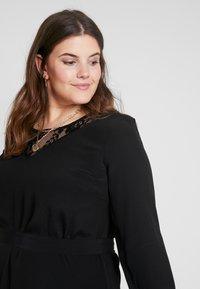 Zizzi - XGRENADINE DRESS - Robe d'été - black - 3