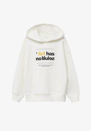 Hoodie - wit