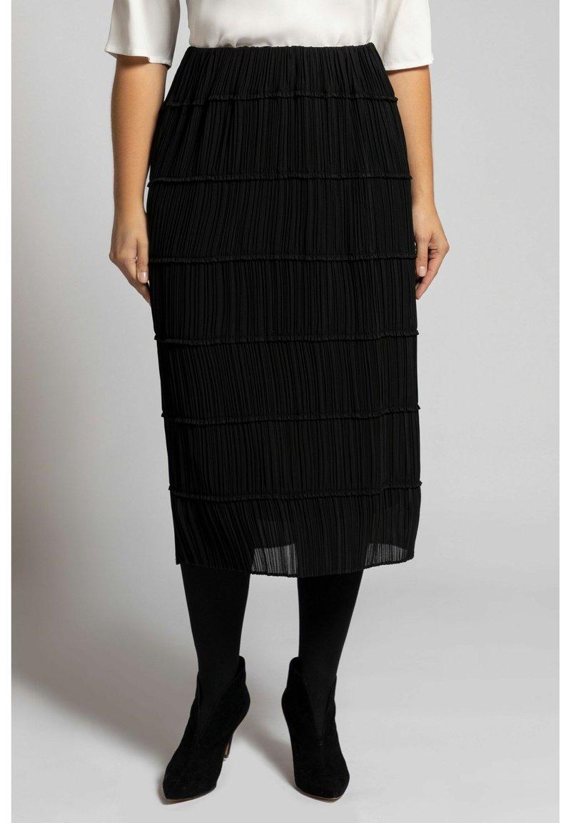 Ulla Popken - A-line skirt - black