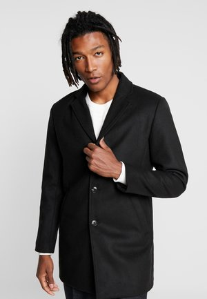 HERMAN COAT - Halflange jas - black