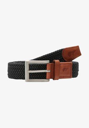 CLASSIC - Braided belt - grey