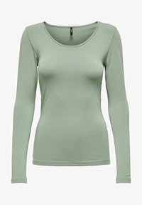 ONLY - BASIC - Long sleeved top - shadow - 0