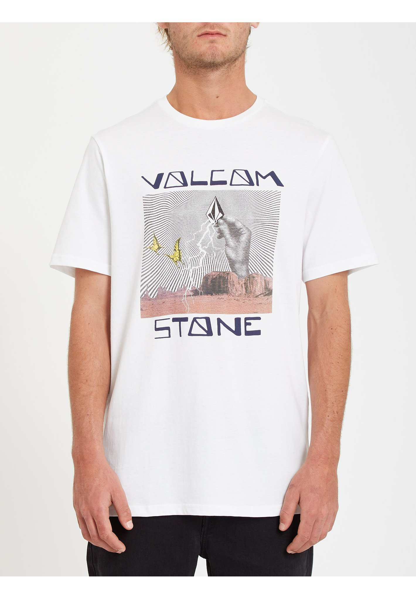 Homme STONE STRIKE TEE - T-shirt imprimé