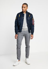 Alpha Industries - Bomber bunda - repl. blue - 1