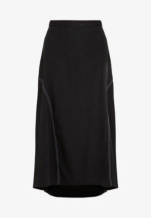 MONA - Długa spódnica - black