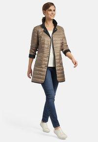 Basler - Winter coat - beige - 1