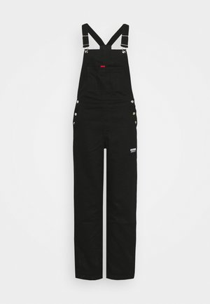 DUNGAREE - Salopette - black