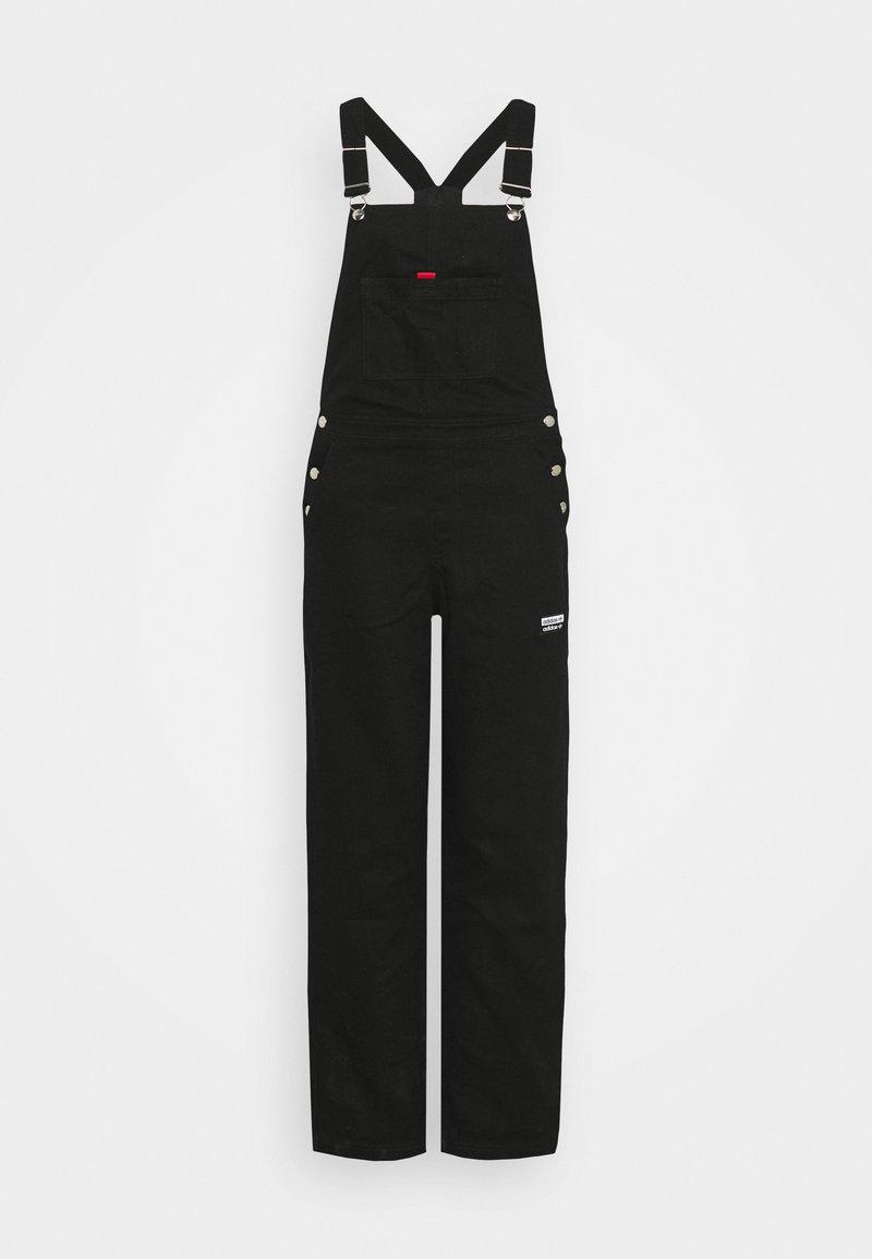 adidas Originals - DUNGAREE - Dungarees - black