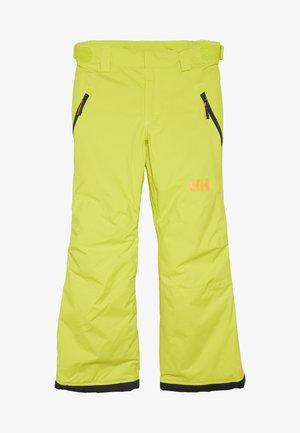 LEGENDARY  UNISEX - Snow pants - sweet lime